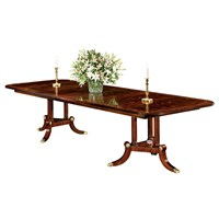 Rectangular Sweeps Dining Table