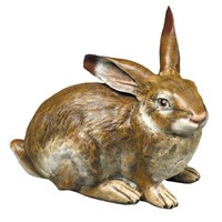 Austrian Bronze Large Rabbit Figurine