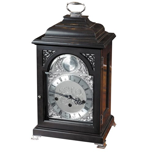 Ebonized Bell Top Mantel Clock
