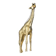 18k Yellow Gold Diamond Mane Giraffe Pin