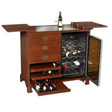 Mahogany Wine Server