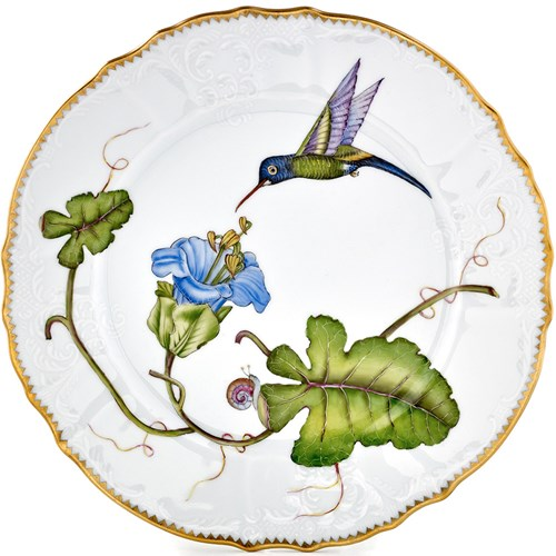 Anna Weatherley Hummingbird Dinner Plate