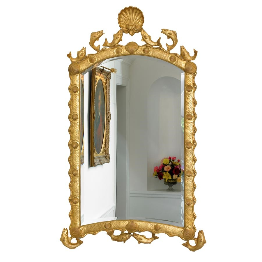 Marthas Vineyard Gold Mirror
