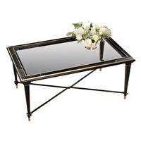 Black Chinoiserie Bristol Coffee Table