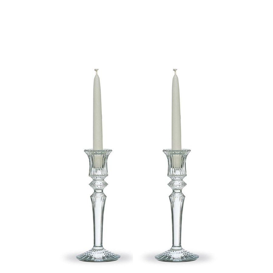Baccarat Mille Nuits Candlestick Set of 2 | Candlesticks | Baccarat ...