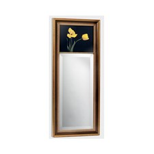 Tulips Mirror with Black Background