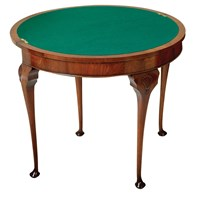 Queen Anne Card Table Queen Anne Card Table