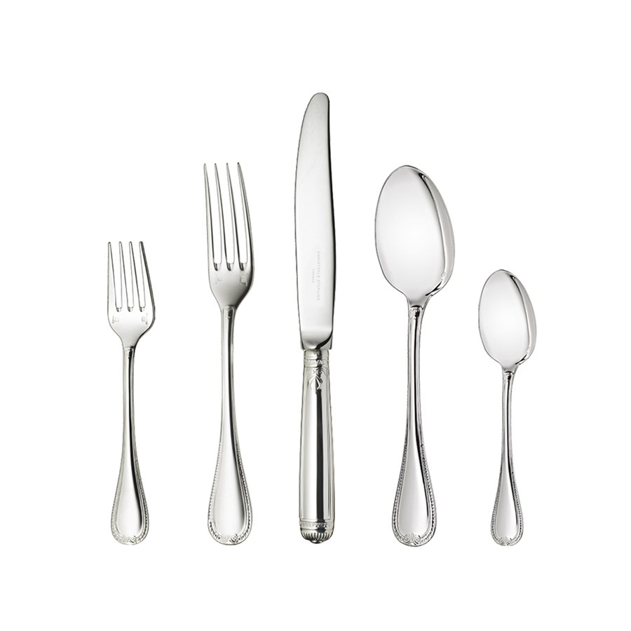 Christofle Malmaison Sterling Silver Dinnerware. Hover to zoom  sc 1 st  Scully u0026 Scully & Christofle Malmaison Sterling Silver Dinnerware | Flatware ...
