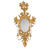 Venetian Sconce, Antique Gold