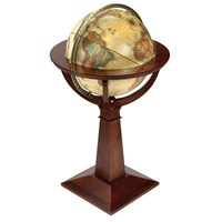 "Logan 16"" Antique Globe"
