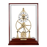 The Great Wheel Goldplated Clock