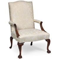 Presidential Mahogany Chair