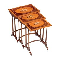 Nesting Tables Musical Instruments S/3