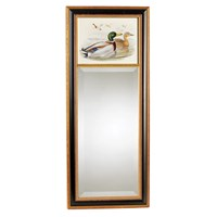 Anas Boschas Mirror with Two Mallards