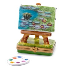 "Monet's ""Water Lilies"" Limoges Box"