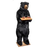 Christmas Black Bear Butler
