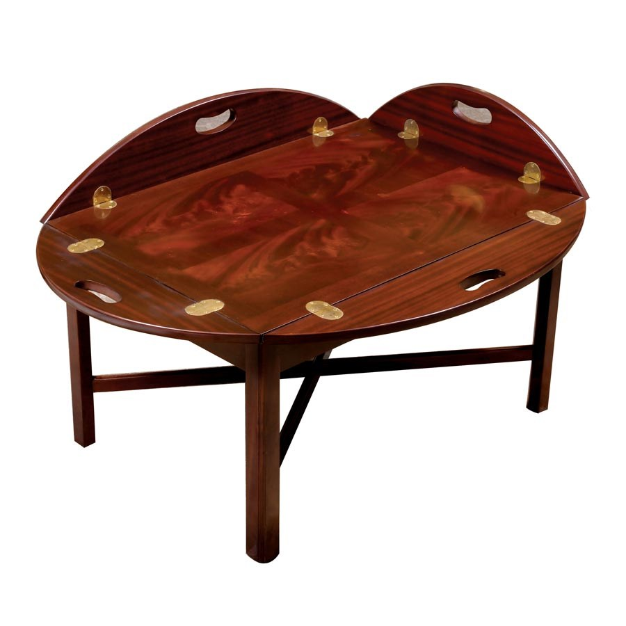 Merveilleux Mahogany Butleru0027s Tray Table. Hover To Zoom