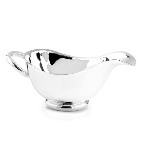 Christofle Vertigo Silverplated Gravy Boat