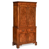 Mahogany Wine Bar Cabinet