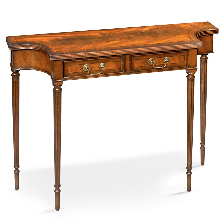 mahogany console table crotch mahogany console table console tables tables 3947