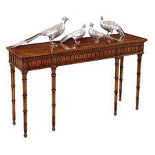 Six Legged Console Table ...