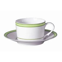 Raynaud Tropic Green Breakfast Saucer (No Mono)