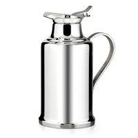 Christofle Silver Plated Insulated Thermos, Albi Collection