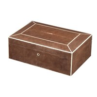 Rectangular Jewelry Box Brown
