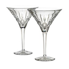 Waterford Lismore Tall Martini, Set of 2