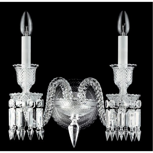 Baccarat Zenith Two-Light Wall Sconce