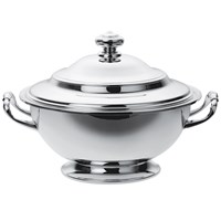 Christofle Silverplated Albi Soup Tureen and Cover
