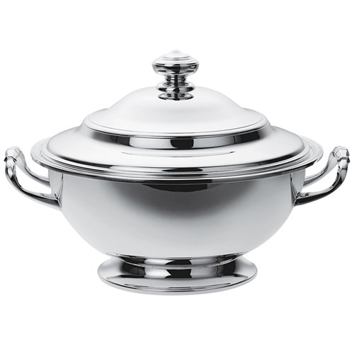 Christofle Albi Silverplated Soup Tureen and Cover