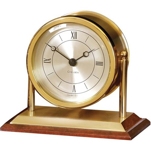 Chatham Clock with Mahogany