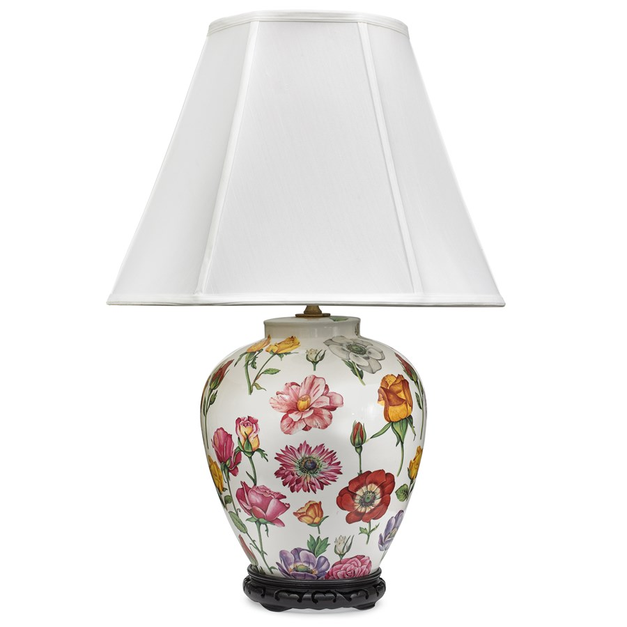 Floral Lamp Large