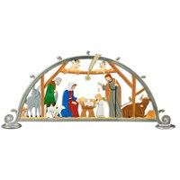 Pewter Nativity Scene