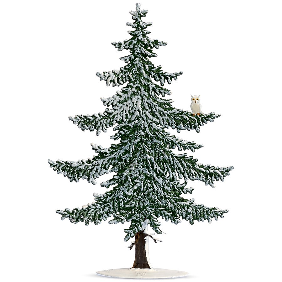 Pewter Winter Pine Tree with Snow Owl | Christmas Pewter | Holiday ...