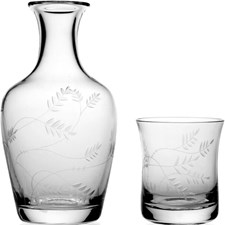 William Yeoward Country Wisteria Carafe & Tumbler