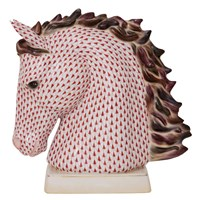 Herend Reserve Collection: Horse Bust