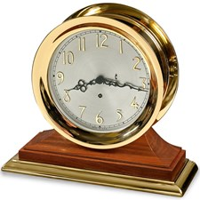 Concord Clock on Walnut with Brass
