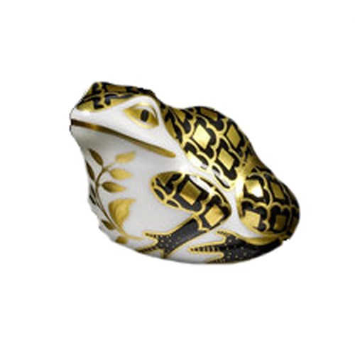 Aura Frog Paperweight Black/Gold
