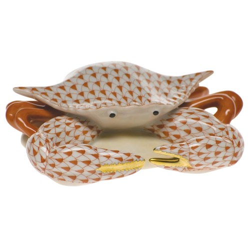 Herend Crab Figurine