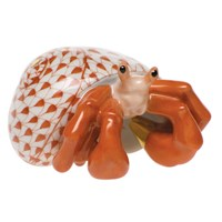Herend Hermit Crab Figurine