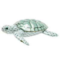 Herend Loggerhead Sea Turtle Figurine