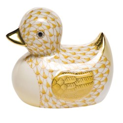 "Herend ""Rubber Ducky"" Figurine"