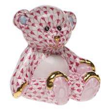 Herend Small Teddy Bear Figurine