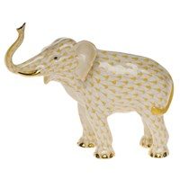 Herend Elephant Luck Figurine