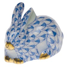 Herend Miniature Lying Rabbit