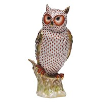 Herend Reserve Collection Watchful Owl