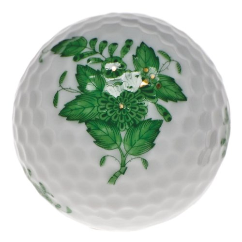 Chinese Bouquet Green Golf Ball