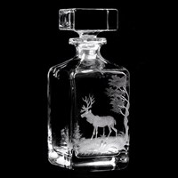 Whiskey Moose Decanter
